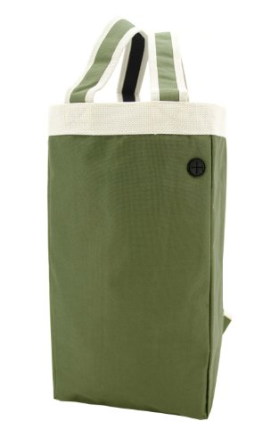 Crossover Tote&Backpack/ Shoulder Tote Bag/ Multifunction Backpack, Froest Green
