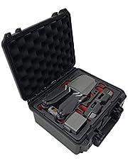 TOMcase Profesional maletín de Transporte, maletín para dji Mavic 2 Pro/Zoom + Muchos Accesorios. Outdoor Case compacta, Impermeable.