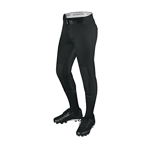 DeMarini Uprising Fastpitch Softball Pants, X-Large, Black Fastpitch Pant