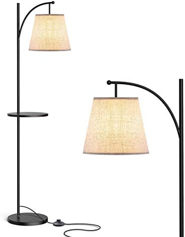 LEPOWER Shelf Floor Lamp