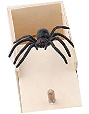 Spider Prank Scare Houten Surprise Box Fun Joke Gags & Voor Gift Party Favors