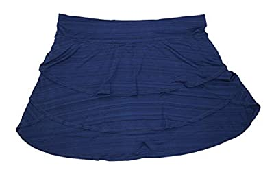 Ideology Women's Plus Size Performance Solid Color Tiered Athletic Skort