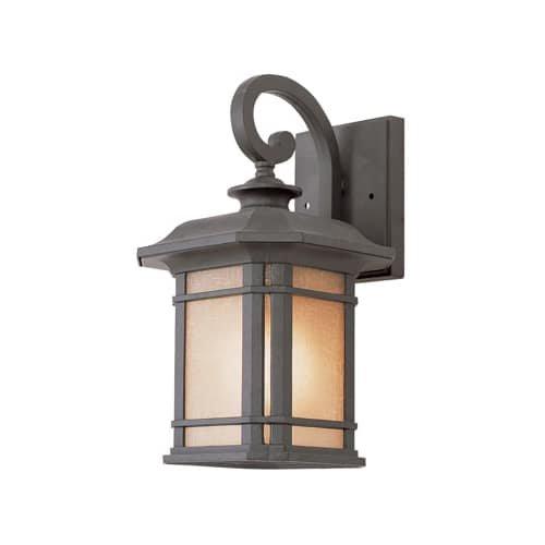 Trans Globe Lighting 5820 BK Outdoor San Miguel 12.75″ Wall Lantern, Black For Sale
