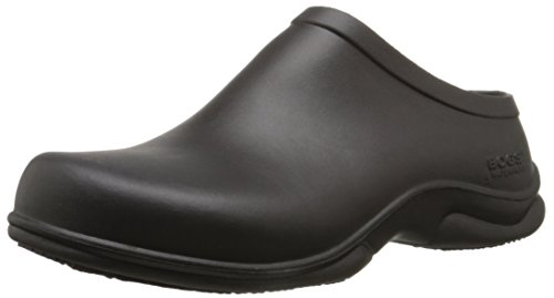 Bogs Men's Stewart Slip Resistant Work Shoe, Black, 12 M US