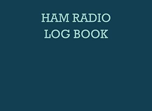 (Ham radio log book: Notebook for amateur radio operators: Handy logging sheets to keep your notes organized in one place: Teal and mint green)
