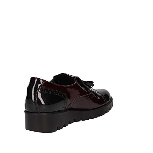 89835 Black Mocassino Femmes bordeaux Callaghan dwfAZqxFd