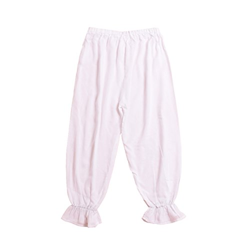 BLESSUME Victorian Lady Pantaloons Wthie Bloomers (Waist: About 64-110cm/25-43) by BLESSUME (Image #5)
