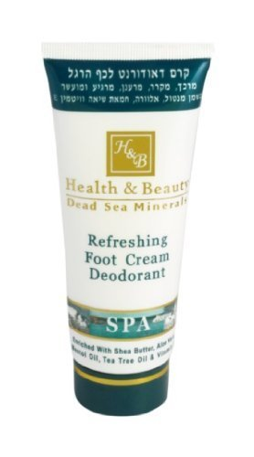 H&B Dead Sea Refreshing Foot Cream Deodorant