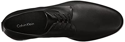 Calvin Klein Men's Naemon Diamond Perf Oxford