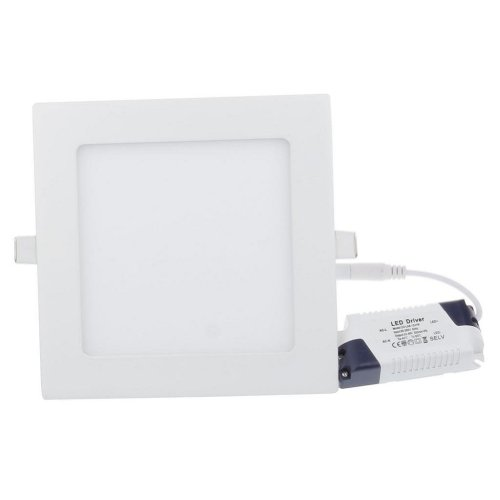 Brightsky 6w LED Square Panel White Bright Light Recessed Ceiling DownLight Bulb Lamp AC120-265v