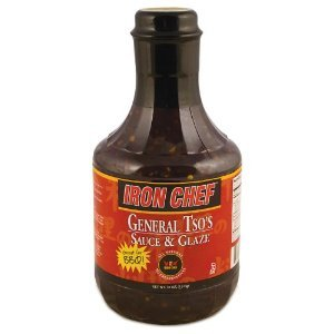 Iron Chef General Tso'S All Natural Sauce & Glaze 40 oz (Pack of 2) (Iron Purchase)
