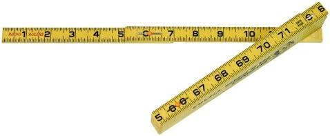Rhino Rulers Folding Standard Brick Spacing Ruler 6/' Length 55110