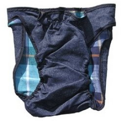 Washable Doggie Dungarees – Dog Diaper X-small, My Pet Supplies