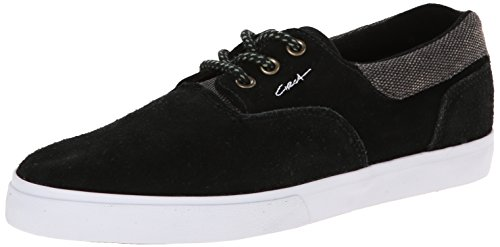 C1RCA Mens Valeose Textile Fashion Sneaker,Black/Forest,6.5 M US