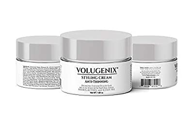 Volugenix Hair Styling Cream Anti-thinning and Hair Loss Thinning Hair Treatment for Men and Women – Hair Gel Pomade Hair Growth Formula for Thin Hair Repair and Hair Thickening