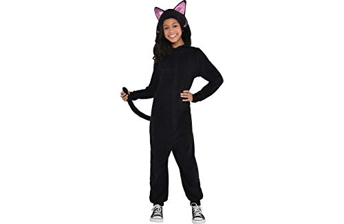 Zipster Black Cat Onepiece Costume - Medium