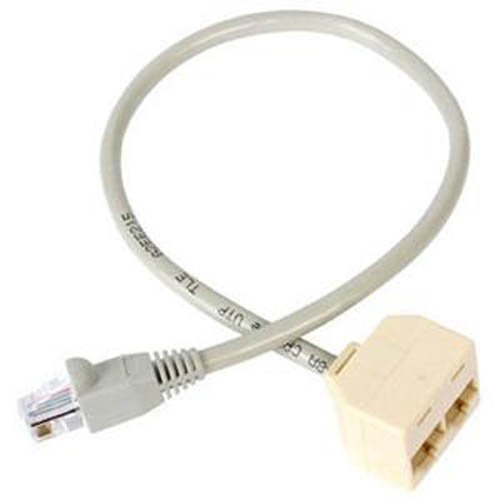 StarTech.com 2-to-1 RJ45 10/100 Mbps Splitter/Combiner - One adapter required at each end of the connection (Com 1)