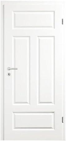 Para puertas de entrada puertas interiores de puerta blanco lacado de madera marco 5-con grandes cuña 4GAD RSP DIN izquierda 198,5 x 86,0 x 14,0 cm: Amazon.es: Bricolaje y herramientas