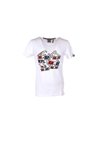 T-shirt Uomo Whoopie Loopie S Bianco Wm17s06tg Primavera Estate 2017