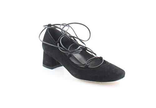(Stuart Weitzman Cordon Women's Heels Black Size 8.5 M)