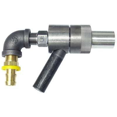 Sandblasting Gun Assembly, 3/8'' Tungsten Carbide Nozzle, 5/32'' Air Jet by Blastline