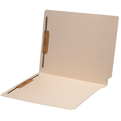 11 pt Cutless Manila Folders, Full Cut 2-Ply End Tab, Letter Size, Fastener Pos #1 & #3 (Box of 50)
