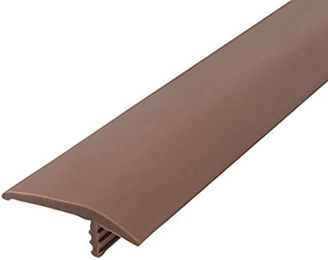 Outwater Plastic T-molding 1//2 Inch Tan Flexible Polyethylene Center Barb Tee Moulding 250 Foot Coil