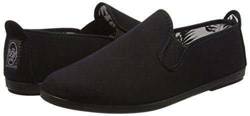 Donna Gaudix Espadrillas Flossy black Black 1XE47xqwx
