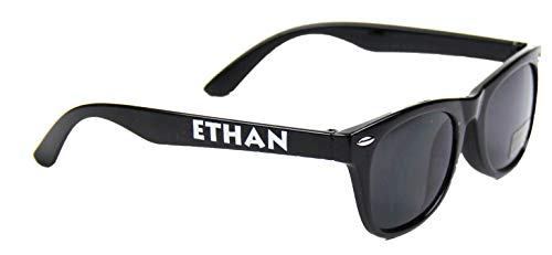 Boys Name His Sunglasses Personalized for Ethan - Kids Ages 3-7 -