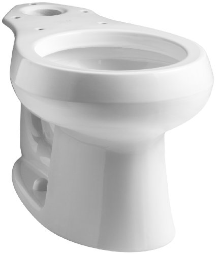KOHLER K-4197-0 Wellworth Round-Front Bowl, White 50%OFF
