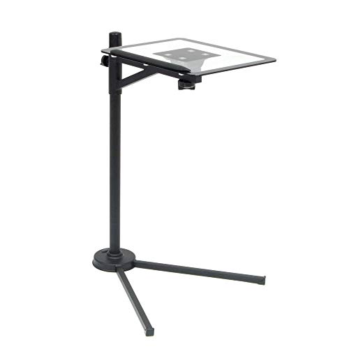 Calico Designs Tech Stand - Black / Clear Glass