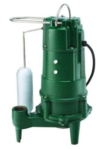 Zoeller 807-0001 Shark Model 807 1 HP 115V Residential Grinder Pump