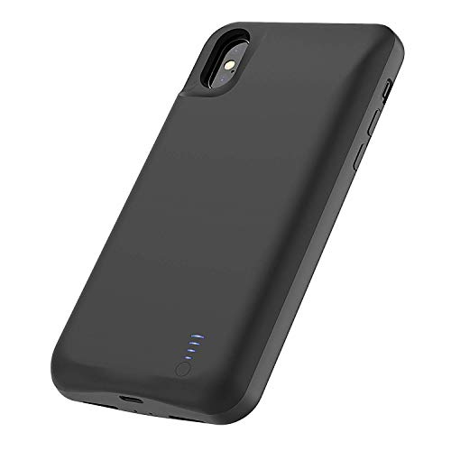Battery Case for iPhone Xs Max, BStrive 8000mAh Portable Slim Protective Charging Case Fingerprint Resistant Charger Case Extended Battery Backup Cover for iPhone Xs Max (6.5Inch)