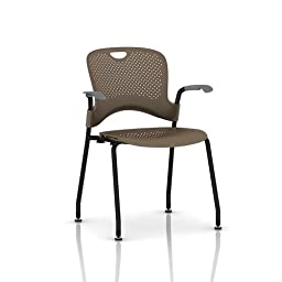 chair sparrow back seat black frame silver grey arms floor
