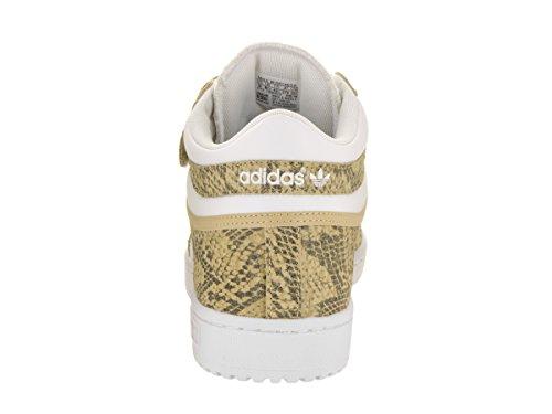 Scarpe Da Basket Adidas Mens Concord Ii Mid Originali Sabbia / Bianco-bianco