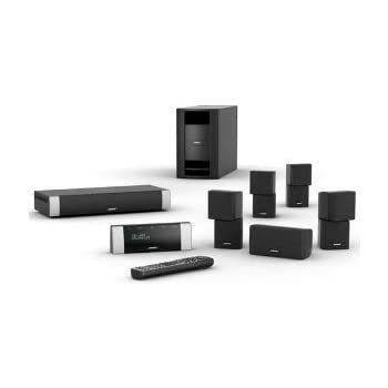 Amazon bose lifestyle v20 home theater system black bose lifestyle v20 home theater system black discontinued by manufacturer sciox Image collections