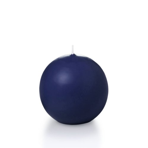 Sphere/Ball Candles - 3 per pack ()