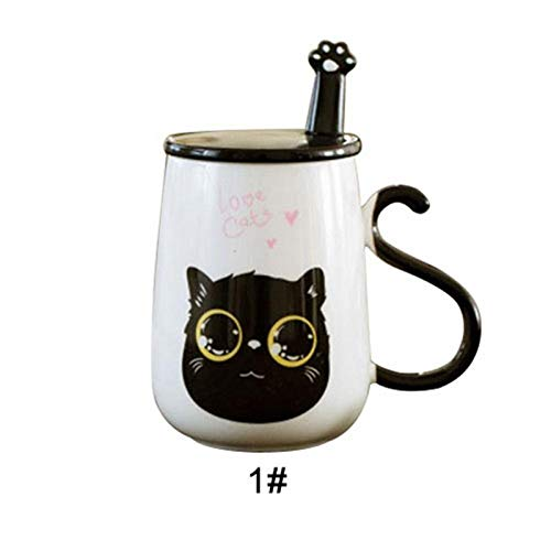 Best Quality Wholesale 500ml Cartoon Cat Ceramic Cup Milk Coffee Mug With Cover And, Wholesale Travel Mugs - Fruit Ceramic, In Collectibles, Coffee Cup, Miniature Coffee Mug, Whisk Kitchen Pink from GoodKitchent