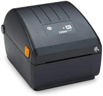 Impressora Térmica Etiqueta Zebra Zd220 Transferência Térmica Monocromática Usb Bivolt