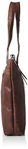 Spikes amp; Sparrow Zip Bag Appendi Borsa Tascabili E Ganci Donna Marrone dark Brown