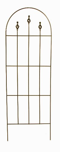 Gardman R552 Finial Trellis, Antique Copper Finish, 20