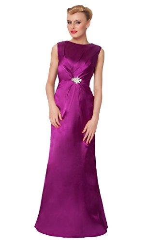 SEXYHER Gorgeous Encuadre de cuerpo entero de damas de honor vestido de noche formal - EDJ1609 Brightpurple
