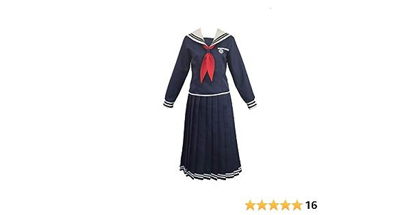 Meifang Anime Danganronpa Toko Fukawa Super Bullet Theory Japanese School Girl Sailor Dress Shirt Uniform Set