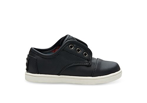 eakers Black Leather 11 M US Little Kid ()