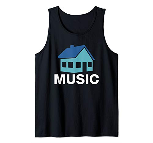 T-shirt Nu Rave - House Music Funny EDM Rave Tank Top