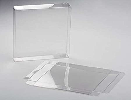 Amazon clearbags crystal clear box for greeting cards high amazon clearbags crystal clear box for greeting cards high density pet soft fold design protects cards photos favors acid free archival safe m4hsunfo