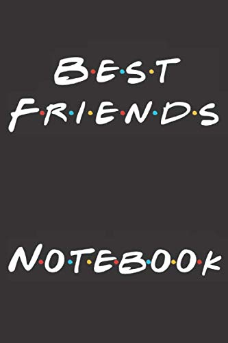 Best Friends Notebook: Printed in America Notebook / Journal / Planner - Quote, Gratitude Accessories & Gift Idea - 6 x 9 - Thick Blank Lined writing ... sketch, Composition Book (USA Volume 1)