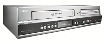 Philips DVDR3545V/37 1080p Upscaling DVDR/VCR Combo with Built-In Tuner