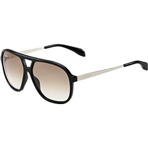 Alexander McQueen 257326RHP601M Mens AMQ 4229-S RHP 1M Sunglasses