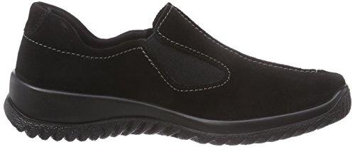 Legero Women's Softshoe Loafers Schwarz (Schwarz 00) 1fjCL9